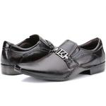 Calçado Sapato Social Em Couro Café Kéffor Linha Detroit