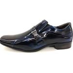 Calçado Masculino Sapato Social Em Couro Kéffor Preto Linha Istambull New