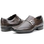 Calçado Sapato Social Em Couro Café Kéffor Istambull New