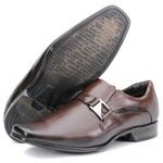 Calçado Sapato Social Em Couro Castanho Kéffor Linha Istambull New