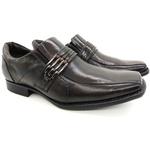 Calçado Masculino Sapato Social Em Couro Kéffor Marrom Linha Metrópole New