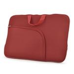 Luva para Notebook com Alça 15 Polegadas - Vermelha