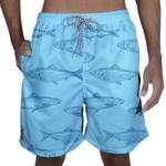 Short Praia Laroche - Azul