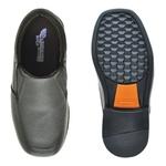 Sapato Social Fortaleza Babie Couro - Preto