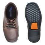 Sapato Social Fortaleza babie Couro - Brown