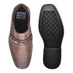 Sapato Social Fortaleza Infantil em Couro - Brown