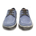 Sapatenis Stratus Eco Masculino de Lona - Jeans