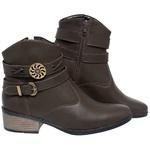 Bota Mega Boots Cano Curto 1333 Cafe