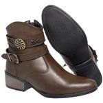 Bota Mega Boots Cano Curto 1333 Chocolate