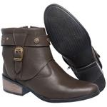 Bota Mega Boots Cano Curto 1334 Cafe