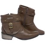 Bota Mega Boots Cano Curto 1334 Chocolate
