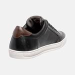 Sapatênis Sonata Em Couro Mega Boots 15035 Preto-Chocolate