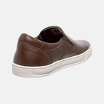 Sapatênis Iate Em Couro Mega Boots 15036 Chocolate