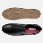 Sapatênis Iate Em Couro Mega Boots 15036 Preto