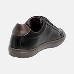 Sapatenis Masculino em Couro Mega Boots 15044 Preto-Cafe