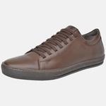 Sapatênis Sonata Em Couro Mega Boots 15054 Chocolate
