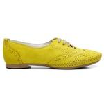 Mocassim Casual Oxford Amarelo