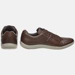 Sapatênis Soft Em Couro Mega Boots 16012 Chocolate