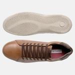 Sapatenis Soft Em Couro Mega Boots 16013 D.Leite-Chocolate