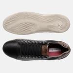 Sapatenis Soft Em Couro Mega Boots 16013 Preto-Chocolate