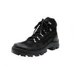 Bota Coturno Adventure em couro Mega boots 17001 Preto