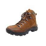 Bota Coturno Adventure em couro Mega boots 17003 Taupe