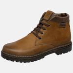 Bota Coturno em couro Mega Boots 6018 Taupe-Café