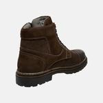 Bota Coturno em Couro Mega Boots 6031 Cafe