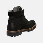 Bota Coturno em Couro Mega Boots 6031 Preto