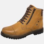 Bota Coturno em Couro Mega Boots 6034 Camel-Cafe