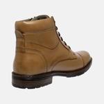 Bota Urbana em Couro Mega Boots Doce de Leite 50003