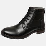 Bota Urbana em Couro Mega Boots Preto 50003