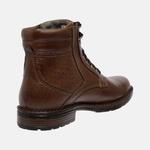 Bota Urbana em Couro Mega Boots Chocolate 50004