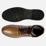 Bota Urbana em Couro Mega Boots Doce de Leite 50004