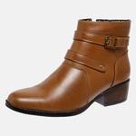 Bota Country Mega Boots em Couro Legitimo - Avelã - 1340