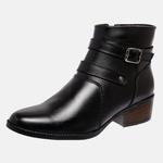 Bota Country Mega Boots em Couro Legitimo - Preto - 1340