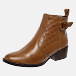 Bota Country Mega Boots em Couro Legitimo - Avelã - 1341