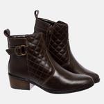 Bota Country Mega Boots em Couro Legitimo - Café - 1341