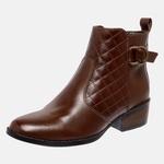 Bota Country Mega Boots em Couro Legitimo - Chocolate - 1341
