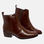 Bota Country Mega Boots em Couro Legitimo - Chocolate - 1342