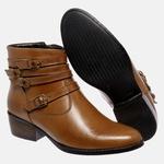 Bota Country Mega Boots em Couro Legitimo - Avelã - 1343