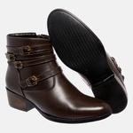 Bota Country Mega Boots em Couro Legitimo - Café - 1343