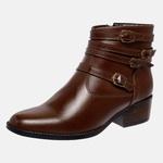 Bota Country Mega Boots em Couro Legitimo - Chocolate - 1343
