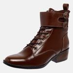 Bota Country Mega Boots em Couro Legitimo - Chocolate - 1344