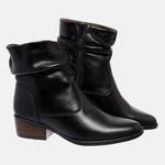 Bota Country Mega Boots em Couro Legitimo - Preto - 1345