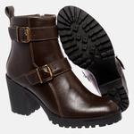 Bota Tratorada Mega Boots em Couro Legitimo - Café - 1425