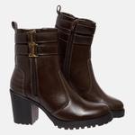 Bota Tratorada Mega Boots em Couro Legitimo - Café - 1426
