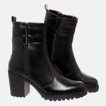 Bota Tratorada Mega Boots em Couro Legitimo - Preto - 1426