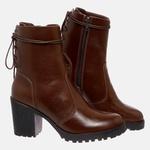 Bota Tratorada Mega Boots em Couro Legitimo - Chocolate - 1427