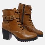 Bota Tratorada Mega Boots em Couro Legitimo - Avelã - 1428